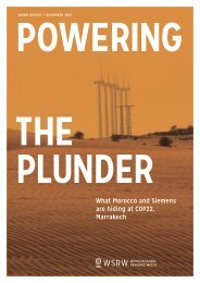 POWERING THE PLUNDER