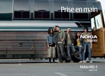 Nokia N81 - Nokia N81 Guide dutilisation