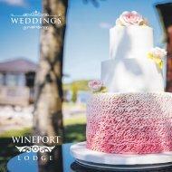 WINEPORT LODGE WEDDING BROCHURE