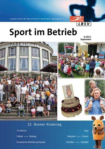 Ausgabe 2011-3 - LBSV Bremen