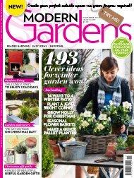 Modern Gardens mini magazine