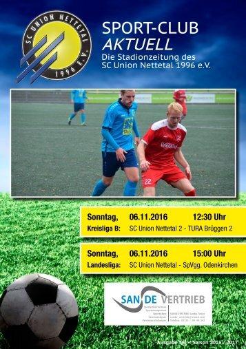 Sport Club Aktuell - Ausgabe 36 - 06.11.2016