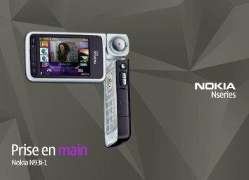 Nokia N93i - Nokia N93i mode d'emploi