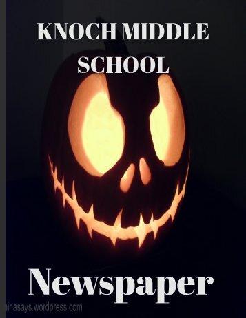 October Newspaper