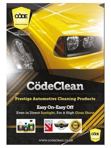 Code Clean Brochure