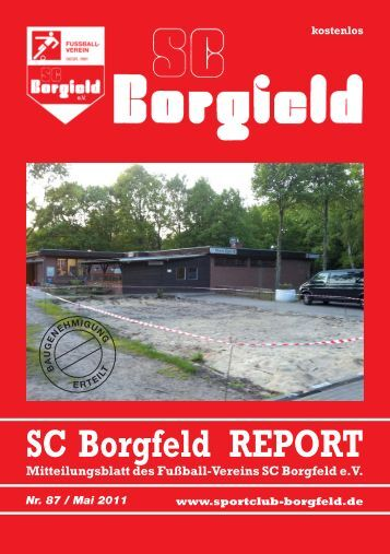 versammlung 2011 - SC Borgfeld e.V.
