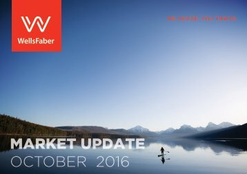 MARKET UPDATE OCTOBER 2016