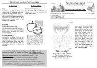30. Januar bis 6. Februar 2011 - Pastoralverbund Welver-Scheidingen