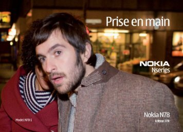 Nokia N78 - Nokia N78 Guide dutilisation