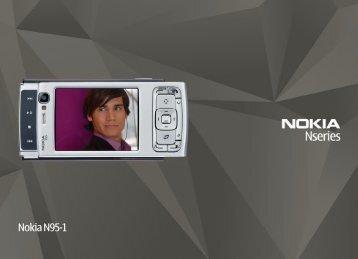 Nokia N95 - Guide d'utilisation Nokia N95
