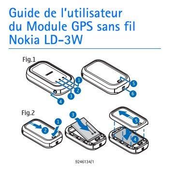Nokia Wireless GPS Module LD-3W - Wireless GPS Module LD-3W Guide dutilisation