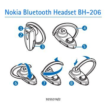 how to connect nokia bluetooth headset bh-104 to nokia cell