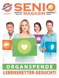 Organspende - Senio Magazin