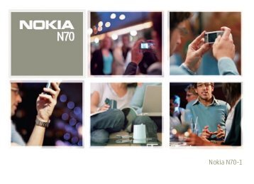 Nokia N70 Music Edition - Nokia N70 Music Edition Guide dutilisation