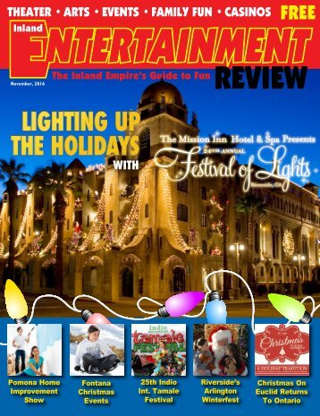 Inland Entertainment Review Nov. 2016