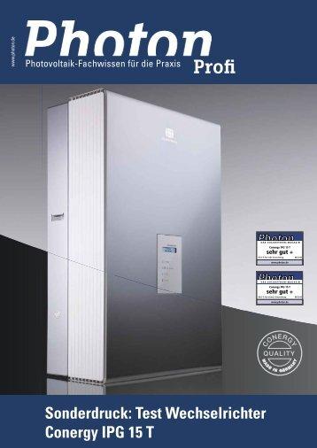 Spitzenleistung - Helvetic Energy GmbH