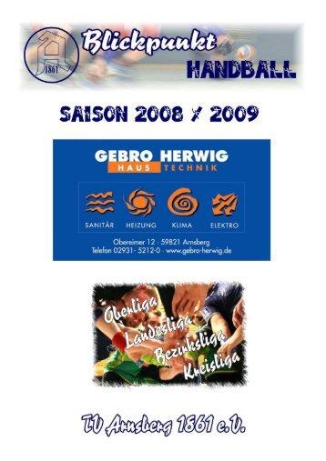 Hallo liebe Handballfreunde!