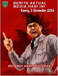 e-Kliping Kamis, 3 November 2016