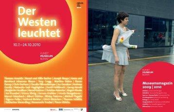 Das Ausstellungsjahr 2009 - Kunstmuseum Bonn