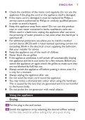 Philips Sèche-cheveux - Mode d'emploi - ESP - Page 7