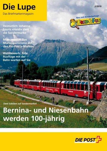 Die Lupe 02/2010 - Die Schweizerische Post