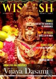 Wishesh Magazine November 2016