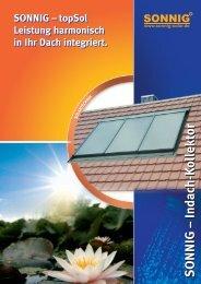 topSol Leistung harmonisch in Ihr Dach integriert. - Krauss AG