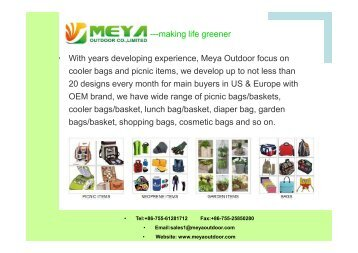 Meya Outdoor Living Presentation - 2016