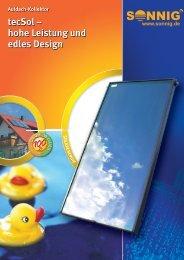 tecSol – hohe Leistung und edles Design - Krauss AG