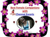 Chennai Escorts for Limitless Erotic Fun
