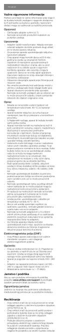 Philips Satinelle Prestige Épilateur 100 % étanche - Instructions avant utilisation - BUL - Page 4