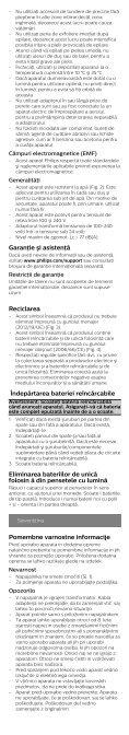 Philips Satinelle Prestige Épilateur 100 % étanche - Instructions avant utilisation - BUL - Page 7