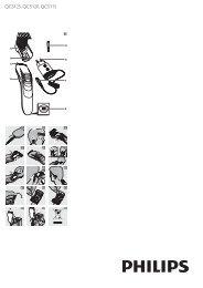 Philips Hairclipper series 3000 Tondeuse à cheveux - Mode d'emploi - FAS