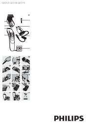 Philips Hairclipper series 3000 Tondeuse à cheveux - Mode d'emploi - ARA