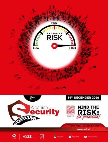 2nd Albanian Security Forum [ENG]
