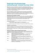 REGIONALE TRENDRAPPORTAGE BANENAFSPRAAK Tweede kwartaal 2016 - Page 2