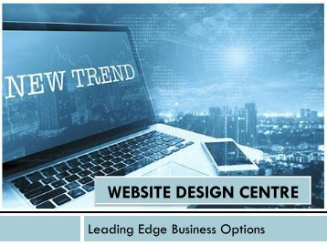 Warning website design trends to reconsider