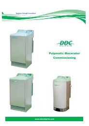 Commissioning Pulpmatic Plus & Ultima  v1.7