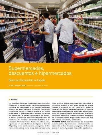 Supermercados descuentos e hipermercados