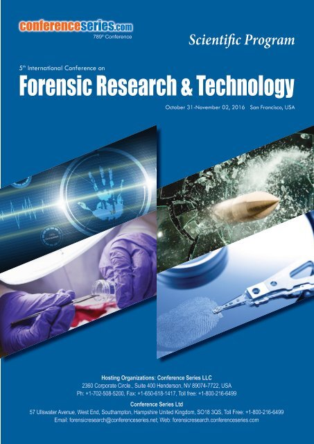 Forensic Research Technology
