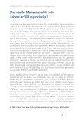 Der reelle Mensch sucht sein Lebenserfüllungsprinzip - Seite 2