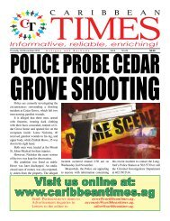 Caribbean Times 28th Issue - Thursday 3rd November 2016
