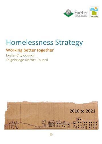 Homelessness Strategy