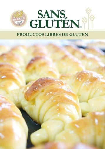Sans Gluten - Catálogo Productos 2016 - otra fuente