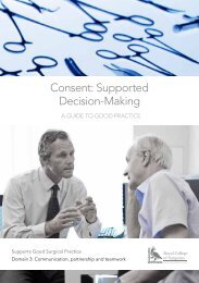 Consent Supported Decision-Making