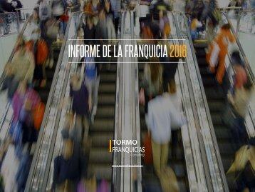 INFORME DE LA FRANQUICIA 2016