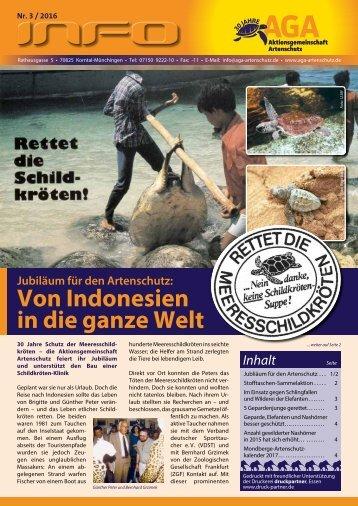 Jubiläum für den Artenschutz: Von Indonesien in die ganze Welt