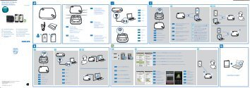 Philips Haut-parleur Bluetooth WeCall - Guide de mise en route - SWE
