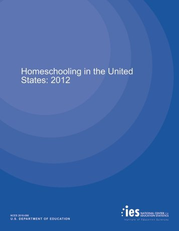 Homeschooling in the United States 2012
