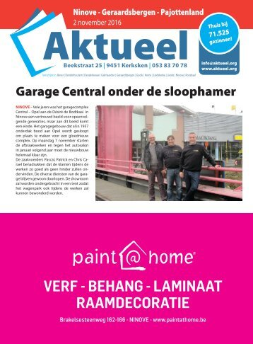 Editie Ninove 2 november 2016